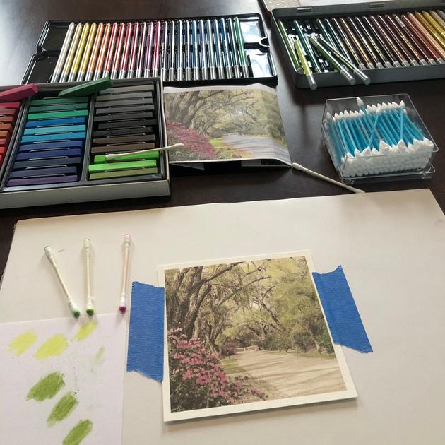 Handcolor Process